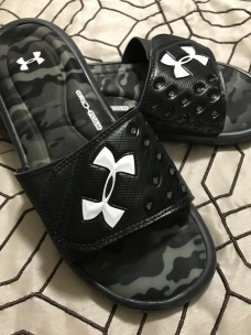 $15 Under Armor sliders